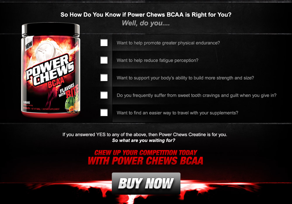 Buy BCAA NOW