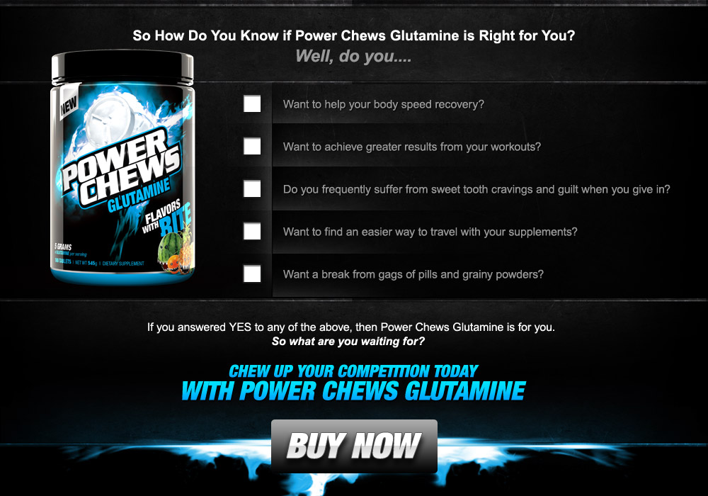 Buy Glutamine NOW